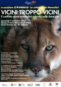 Il conflitto uomo-mammiferi selvatici nelle Americhe