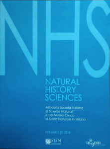 Natural History Sciences: Vol. 6/1 2019 online!