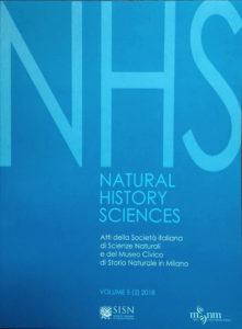 Natural History Sciences: Vol. 6/1 2019 online!