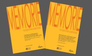 I due volumi di Memorie pubblicati nel 2019
