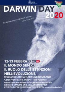12-13 febbraio 2020: Darwin Day al Museo di Storia Naturale di Milano